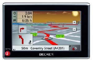 Ремонт GPS навигаторов Becker traffic assist z 102