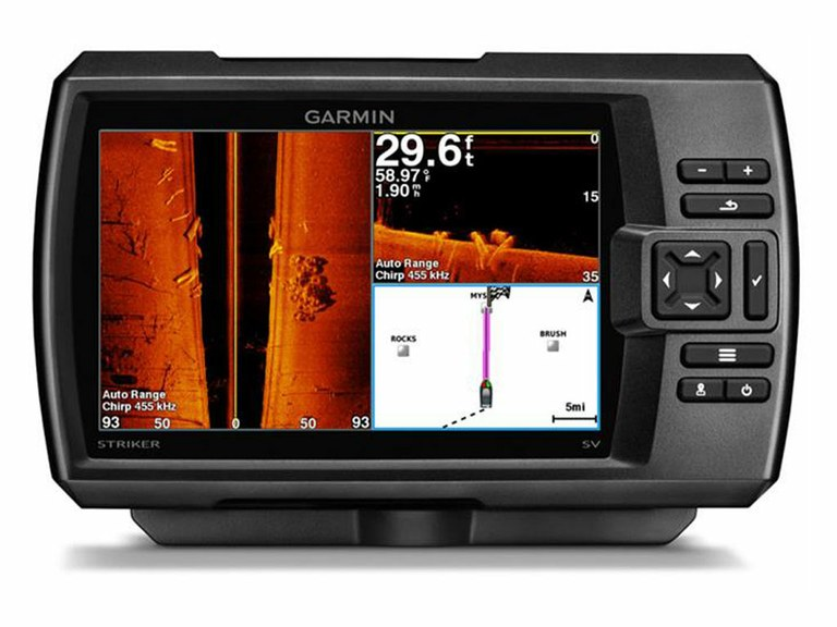 Ремонт GPS навигаторов Garmin Striker Plus 7SV