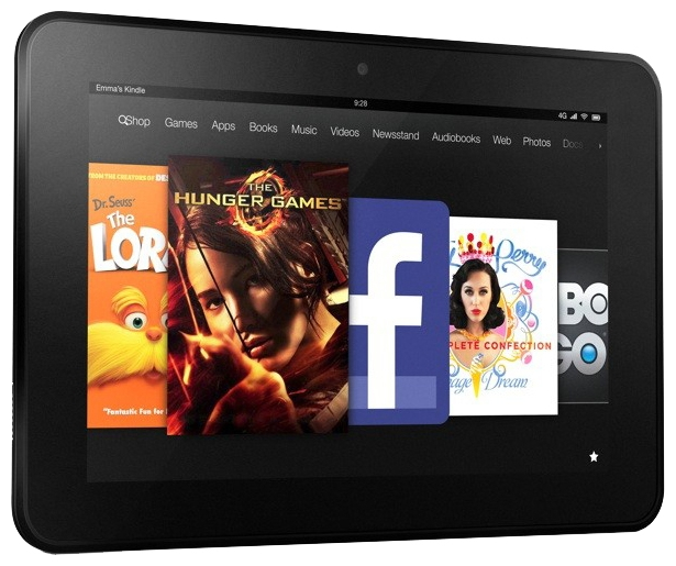 Ремонт планшетов Amazon Kindle Fire HD 8.9  / Kindle Fire HD 8.9 4G
