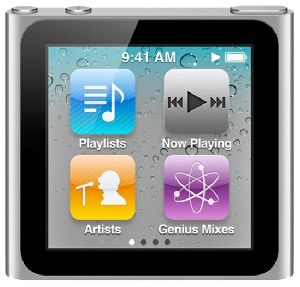 Ремонт mp3 плееров Apple-ipod ipod nano 6