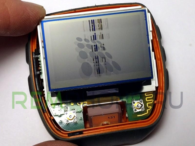 Garmin Forerunner 310XT нет изображения или исчезает картинка